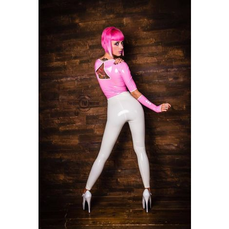 Latex High Waist Leggings