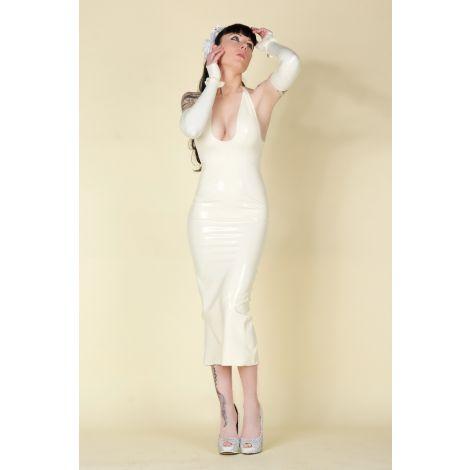 Latex Neckholder Kleid