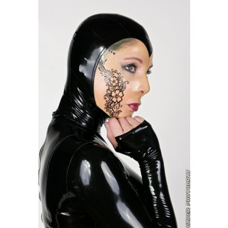 Latex Maske Henna Design
