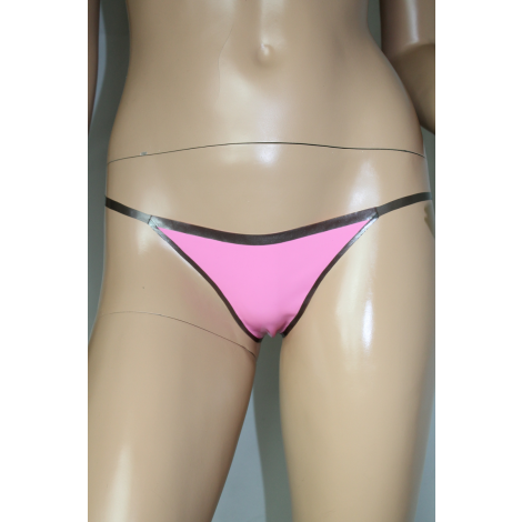 "Latex String Tanga ""Deluxe"""
