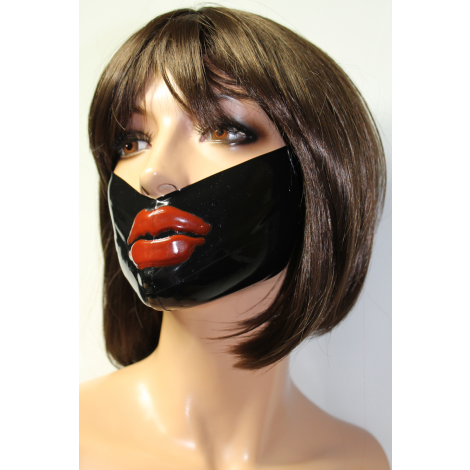 "Latex Medical Mask ""Lips"""
