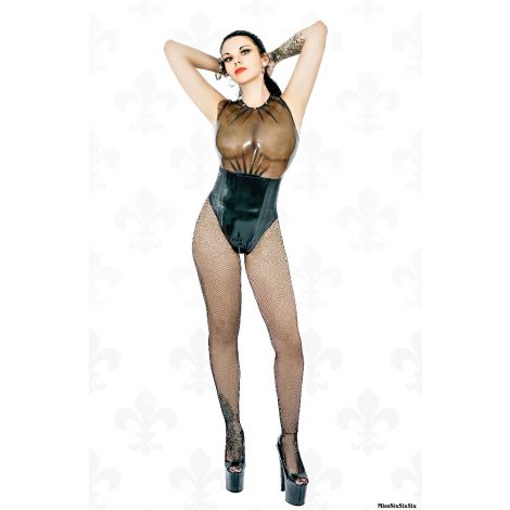 "Latex Body ""Mistress"" mit Strukturlatex und Strass"